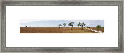 Central Texas Landscape Framed Print