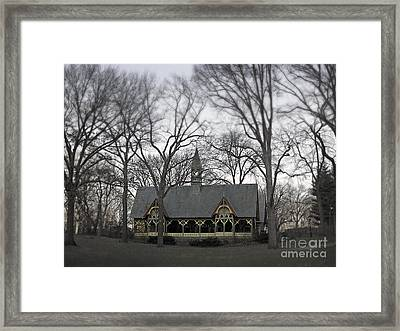 Centrally Located Framed Print