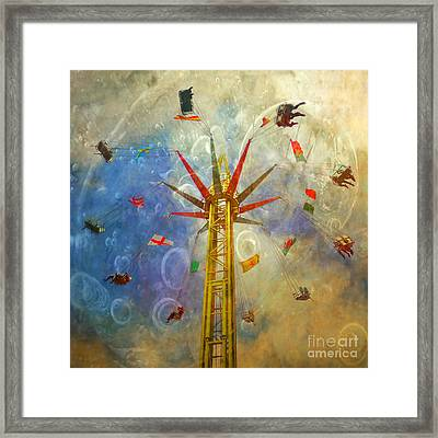 Centre Of The Universe Framed Print