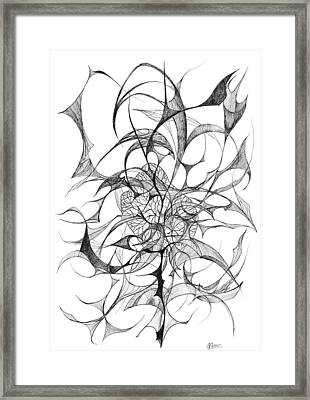 Centred Framed Print