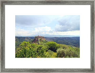 Centro Italia Framed Print