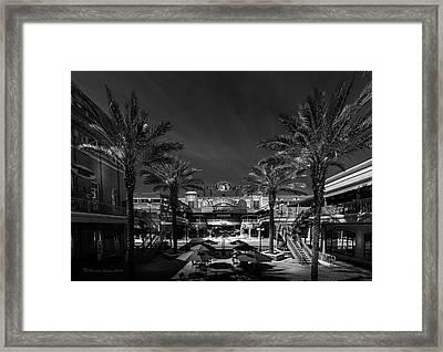 Centro Ybor Bw Framed Print by Marvin Spates