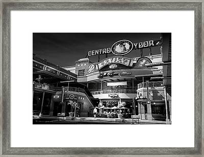 Centro Ybor Framed Print by Marvin Spates