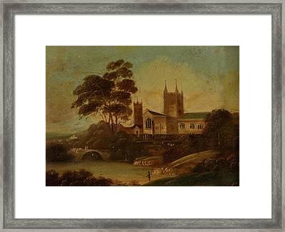 Century English School Framed Print