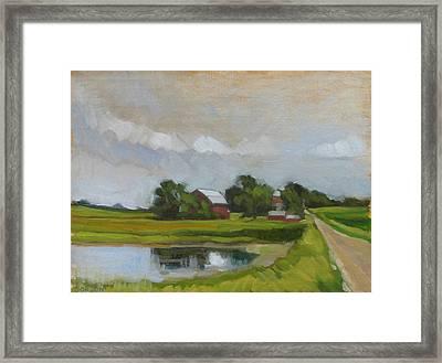 Century Farm Framed Print