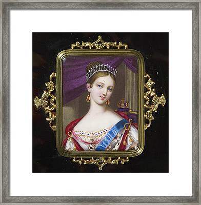 century Queen Victoria Framed Print by MotionAge Designs