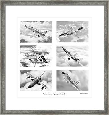 Century Series Drawings Framed Print