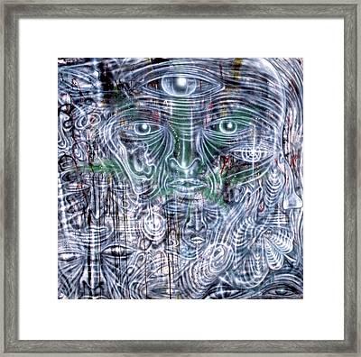 Cephalic Carnage Framed Print by Leigh Odom