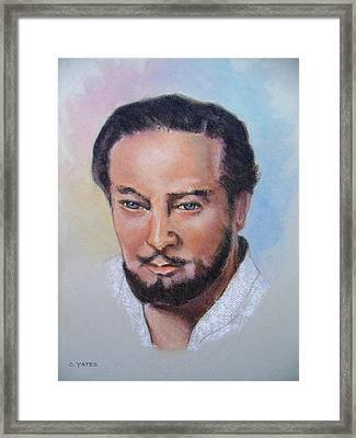 Cephas Framed Print by Charles Yates