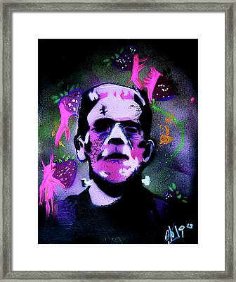 Cereal Killers - Frankenberry Framed Print by eVol i