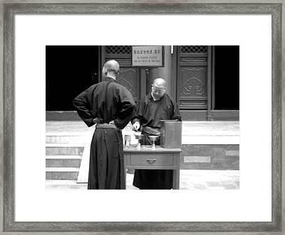 Ceremony Framed Print by Diana Davenport