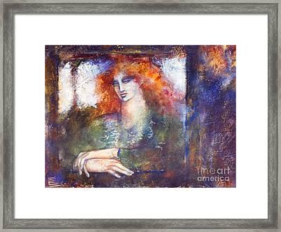 Cerridwen Framed Print by Marne Adler