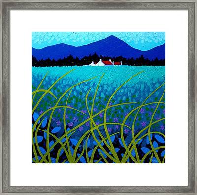 Cerulean Hills Framed Print by John  Nolan