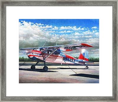Cessna 140 Framed Print