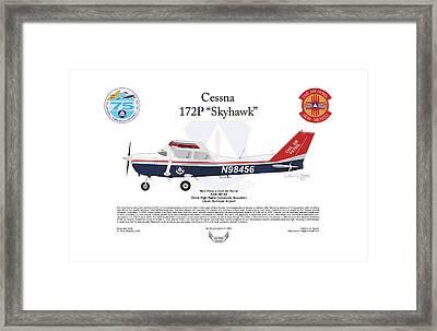Cessna 172p Skyhawk Framed Print