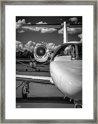 Cessna Citation Framed Print