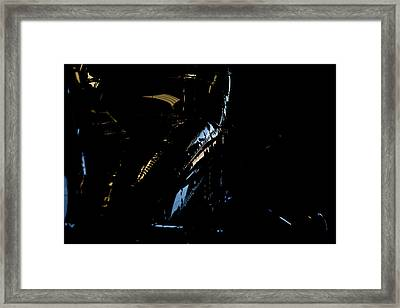 Framed Print featuring the photograph Cessna Views I by Paul Job