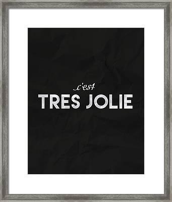 C'est Tres Jolie Framed Print by Samuel Whitton