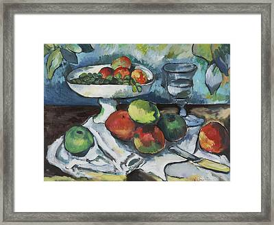 Cezanne Framed Print