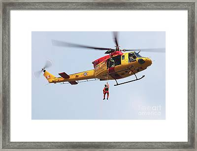 Ch-146 Griffon Of The Canadian Forces Framed Print