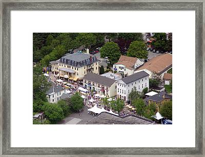 Ch Home And Garden Festival Framed Print by Duncan Pearson