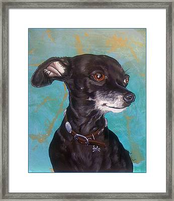 Cha Cha Framed Print by Jack Knight