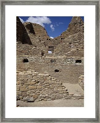 Chaco 3 Story Framed Print by Carol Komassa
