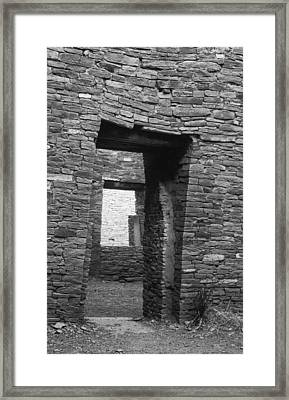 Chaco Canyon Framed Print by Cliff Wassmann