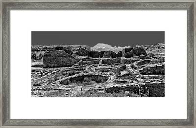 Chaco Fifteen Framed Print by Paul Basile
