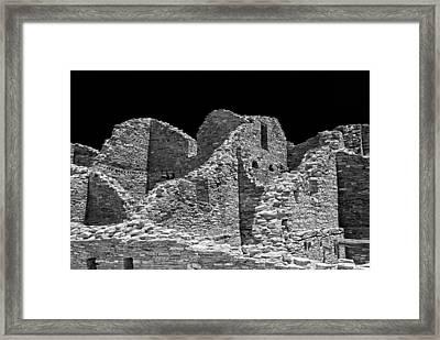 Chaco Sixteen Framed Print by Paul Basile