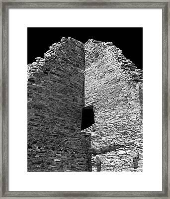 Chaco Twelve Framed Print by Paul Basile