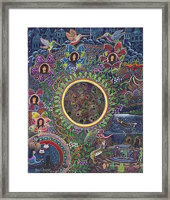 Chacruna Versucum Framed Print