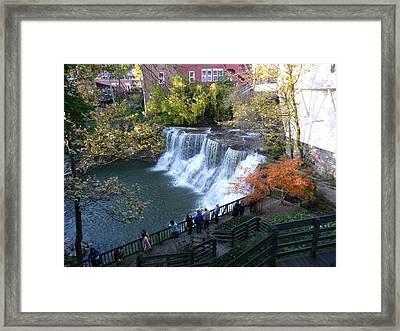 Chagrin Falls Framed Print by Joel Deutsch