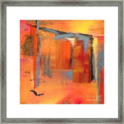 Chai Framed Print