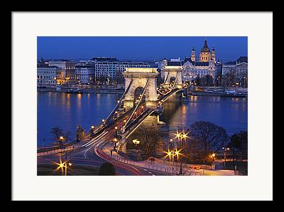 Chain Bridge Framed Prints