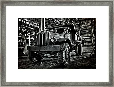 Chain Drive Sterling Framed Print