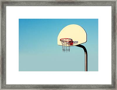 Chain Net Framed Print by Todd Klassy