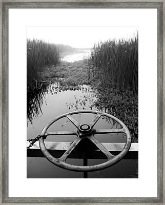 Chained Back Framed Print by Tom Melo