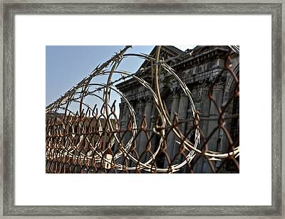 Chained Ruins II Framed Print by Joshua Ball