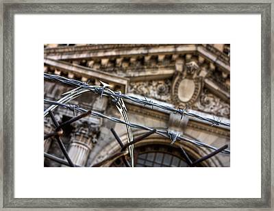 Chained Ruins Framed Print by Joshua Ball