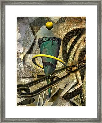 Chained Visions Framed Print by Robert Michaels