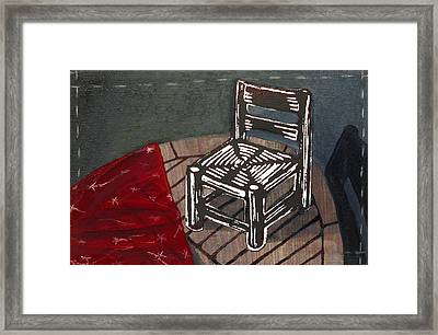 Chair II Framed Print by Peter Allan