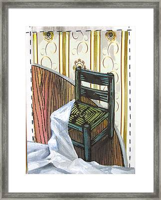 Chair Iv Framed Print by Peter Allan