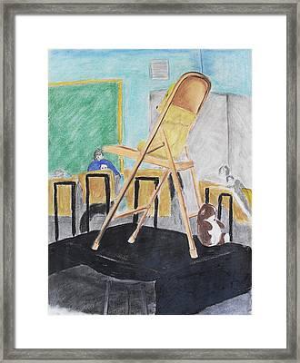 Chair Life Study Framed Print