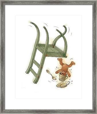 Chair Race02 Framed Print by Kestutis Kasparavicius