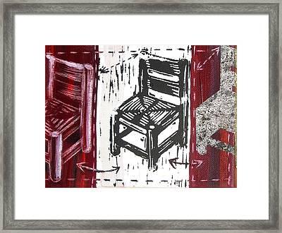 Chair V Framed Print by Peter Allan