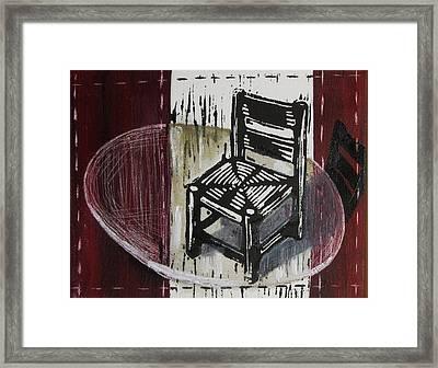 Chair Vi Framed Print by Peter Allan