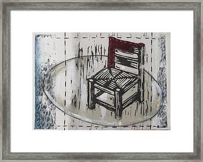Chair Vii Framed Print by Peter Allan