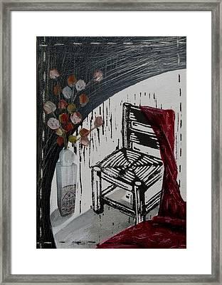 Chair Viii Framed Print by Peter Allan