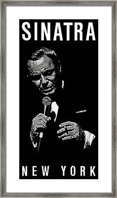 Chairman Of The Board Framed Print by Dan Menta